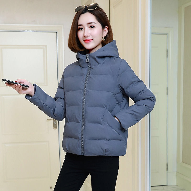 Winter Jacket women 2019 NEW Women   Parkas   Frivolous Outerwear solid Coats Short Female Slim Cotton padded basic tops