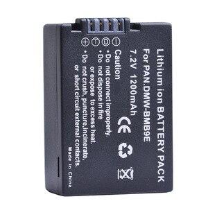 Литий-ионный аккумулятор для Panasonic Lumix DMC FZ40K FZ45K FZ47K FZ48K FZ60 FZ70 FZ100 FZ150, 1 шт., 1200 мАч, DMW-BMB9, МВт, BMB9