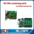 Rv901 linsn из светодиодов система получения карты + 1 шт. TS802 отправки для из светодиодов панели p5 p6 p76.2 p10 из светодиодов модуль