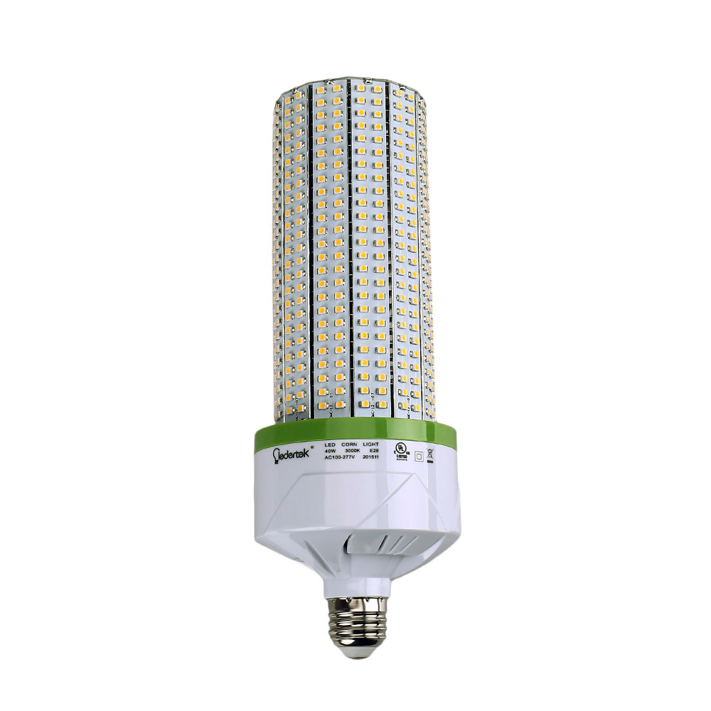 lederTEK 30W E26 LED Corn Light 3000K UL Approved Energy Saving High Power LED Light To Replace The Conventional CFL Bulb 150W lole капри lsw1349 lively capris xl blue corn