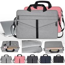 13 14 15.4 15.6 Shoulder Messenger Handbag Notebook Laptop Bag Case For Xiaomi Acer Dell HP Asus Macbook Pro Air Briefcase Bags