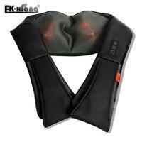 Multifunction U Shape Electrical Shiatsu Back Neck Shoulder Massager Infrared 3D Body Massage Pillow Vehicle Massage