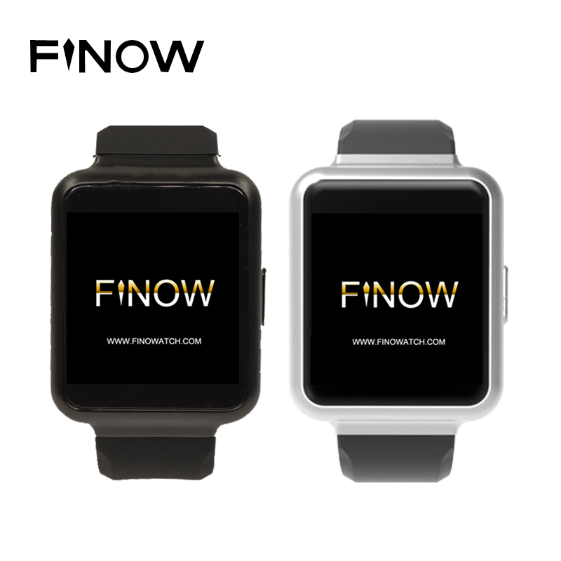 Finow Q1 Smart Watch K8 Upgraded Version Android 5.1 RAM 1GB ROM 8GB 1.54″ Display WiFi GPS 3G Bluetooth Nano Sim Smartwatch