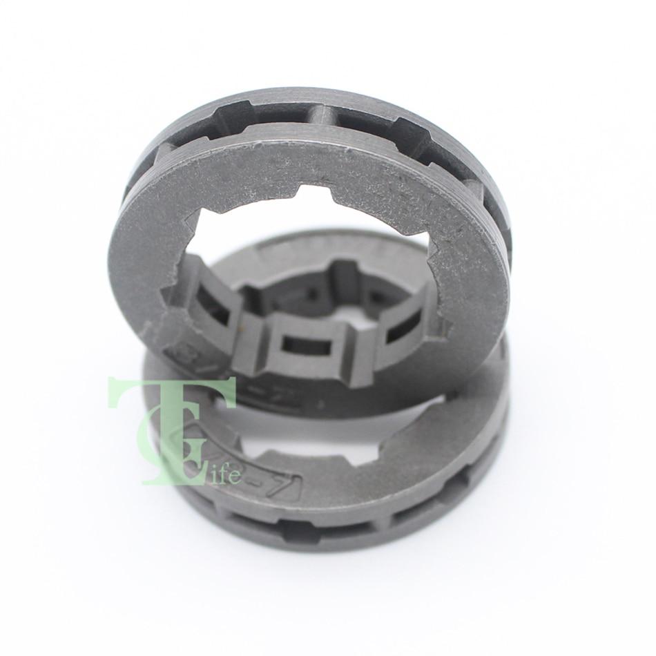 3//8 7T Sprocket Rim STD for Husqvarna 365 372 380 385 390 394 395 570 575 10Pcs