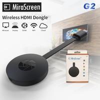 MiraScreen G2 MINI PC Android Media Player TV Vara Push Chrome elenco Wifi Exibição Receiver Dongle Cromo DLNA Sem Fio Air jogar
