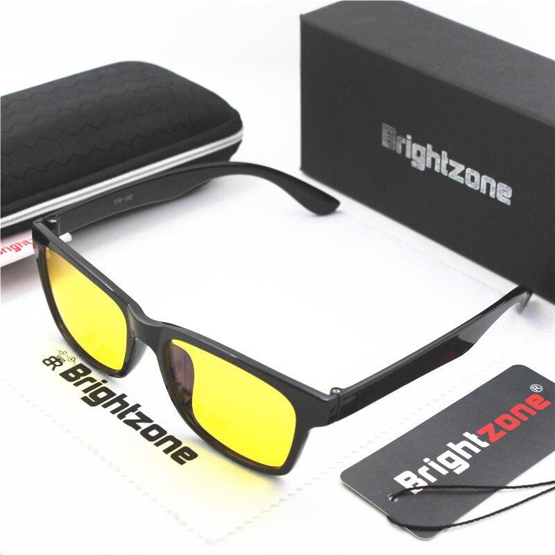 Brightzone LightWeight TR 90 Anti UV Blue Light Blocking Men's Women's Computer Glasses Spectacle Frame Oculos Sem Grau Feminino