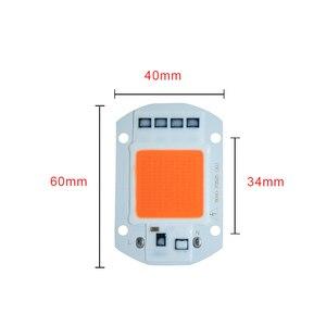 Image 3 - LED Crescere Phyto Lampade Con Riflettore 20 W 30 W 50 W 110 V 220 V COB Circuito Integrato del LED Full Spectrum Grow Light Spotlight Proiettore Lampadina