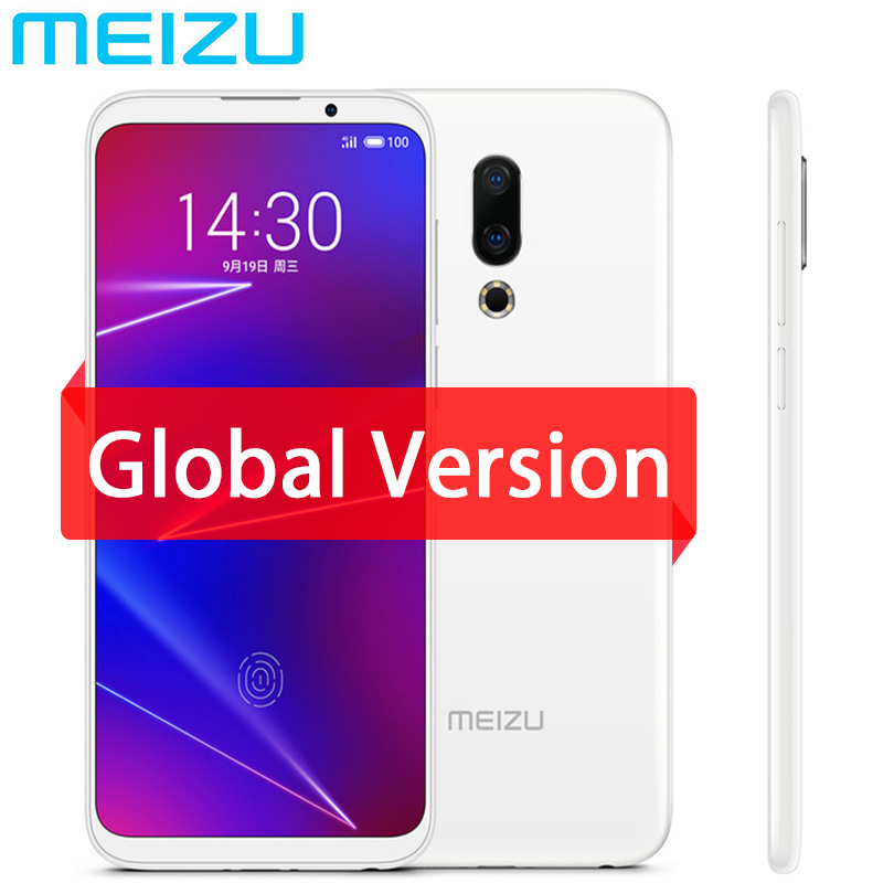 Original Version Meizu 16 16X 4G LTE 6G 64G CellPhone Snapdragon 710 Octa Core 6 0inch