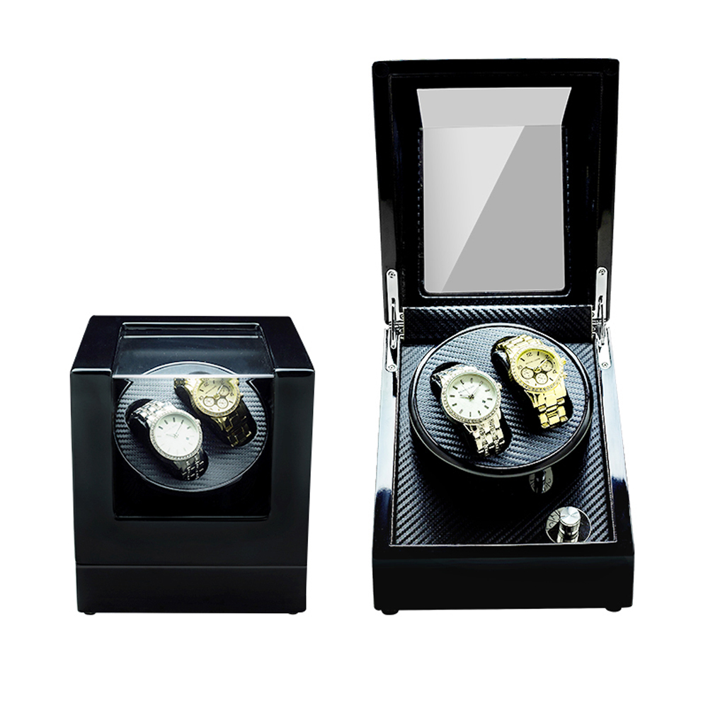 Buy Watch Winder ,LT Wooden Automatic Rotation 2+0 Watch Winder Storage Case Display Box (Leopard ) for only 110 USD