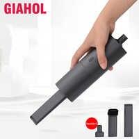 Aspirateur sans fil voiture Mini Portable aspirateurs à main humide sec double usage Aspirateur Aspirateur pour voiture maison gris