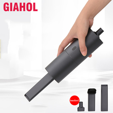 Wireless Car Vacuum Cleaner Mini Portable Handheld Vacuum Cleaner Wet Dry Dual Use Aspirateur Vacuum Cleaner for Car Home Gray
