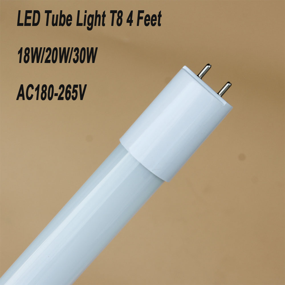 FedEX Free shipping 90pcs 18W 1200MM 4FT T8 LED glass Tube 1200mm Light High brightness t8