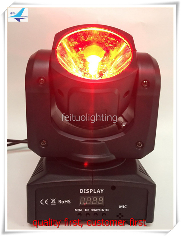 6 Лот Супер луча 60 Вт moving head RGBW мини movinghead Spot LED Disco lumiere свет DMX Звук Управление вращающийся этап DJ свет ...
