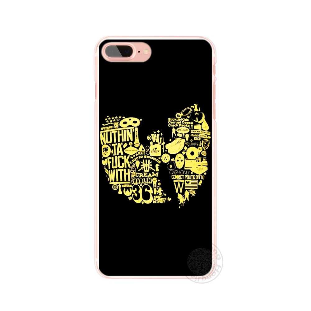 Hameinuo Wu Tang Clan хип-хоп рэп-группа сотового телефона чехол для iPhone 4 4S 5 5S SE 5C 6 6S 7 8 x плюс