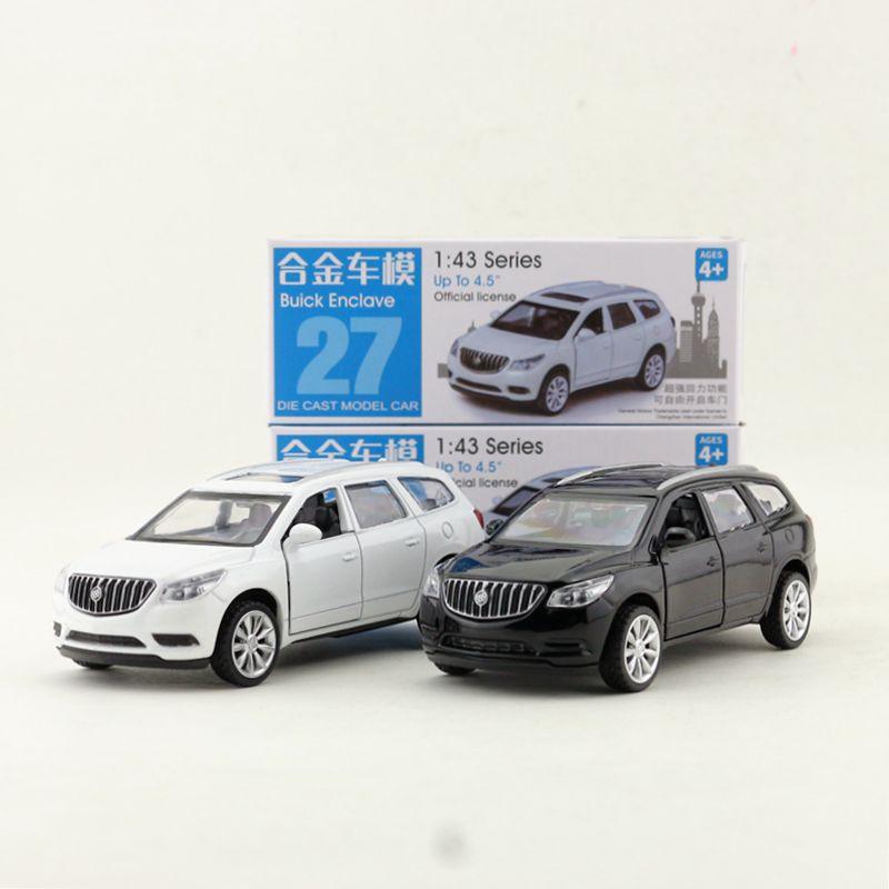 1:43 Scale/diecast Toy Model/buick Enclave Suv/super Sport Racing Car/educational Collection/pull Back/gift For Children Toys & Hobbies