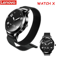 Lenovo Watch X Smart Watch For Man Bluetooth Waterproof Smartwatch Heart Rate Monitor Bluetooth 45 Days Standby IOS Android