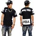 Top Quality Brand Clothing Boys Clothes Hip Hop T Shirt Skate Skateboard Hood By Air Kids Tee Shirt Kanye West DC645