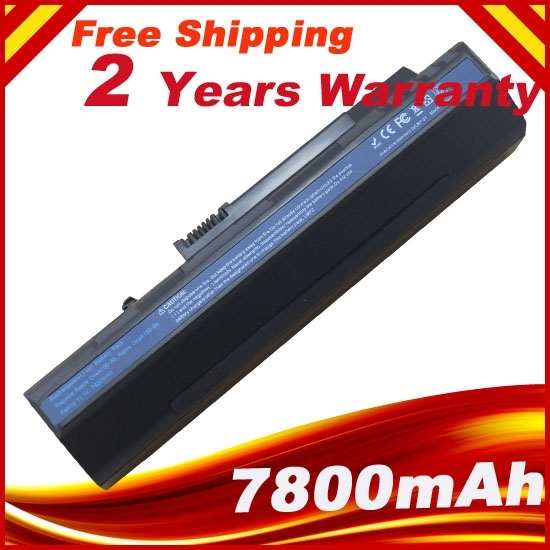 7800mAh Laptop Battery For ACER Aspire One A110 A150 Aspire One D150  D250  UM08A31 UM08A32 UM08B31 UM08B32 UM08A71 UM08B71