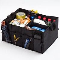 Car Seat Back Rear Travel Storage Organizer Car Back Folding Storage Box Multi Use Tools Organizer