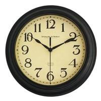 8 inches Clock Saat Relogio de parede Arabic digital fashion Wall Clock Reloj Duvar saati Retro Living Room Bedroom Wall Clocks