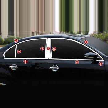 ประตูหน้าต่างร่างกายภายนอกทนทานตกแต่งรถยนต์อุปกรณ์