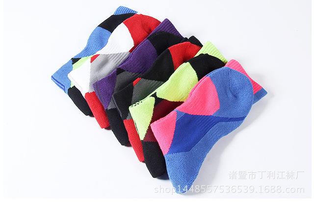 Sport Socks Basketball Cycling Sweat Absorbing Anti Slip Men Women Running Outdoor Football Soccer Thick Hiking Athletic socks