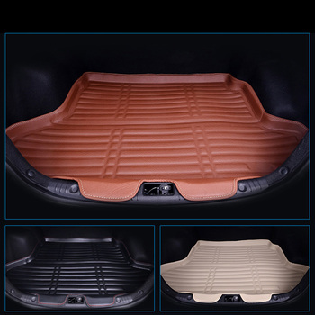 lsrtw2017 fiber leather car trunk mat for hyundai solaris 2010 2011 2012 2013 2014 2015 2016 2017 2018 2019 verna