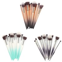 10 PcsMakeup Brushes Set Cosmetics Tools Podwer Eyeshadow Foundation Blusher Blending Make Up Brush Pincel Maquiagem E1 Eye Shadow Applicator