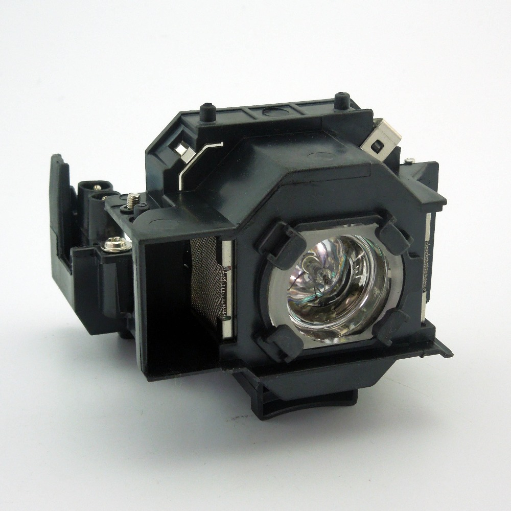 Original Projector Lamp With Housing  ELPLP33 / V13H010L33 For EPSON PowerLite Home 20/MovieMate 25/MovieMate 30S/PowerLite S3 elplp44 v13h010l44 compatible projector lamp for epson eh dm2 dm1 moviemate 50 with housing