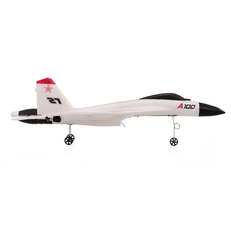 Image 5 - Wingspan 2.4G 3CH RC Airplane A100 J11 EPP 340mm Fixed Wing Aircraft Outdoor RC Toys Children Gift Glider Toy Planes-in RC Airplanes from Toys & Hobbies