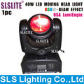 One Sample 40W Led Moving Head Beam Light RGBW Color Pan 540 / Endless Rotation Tilt 180 Degree 1 Year Warranty