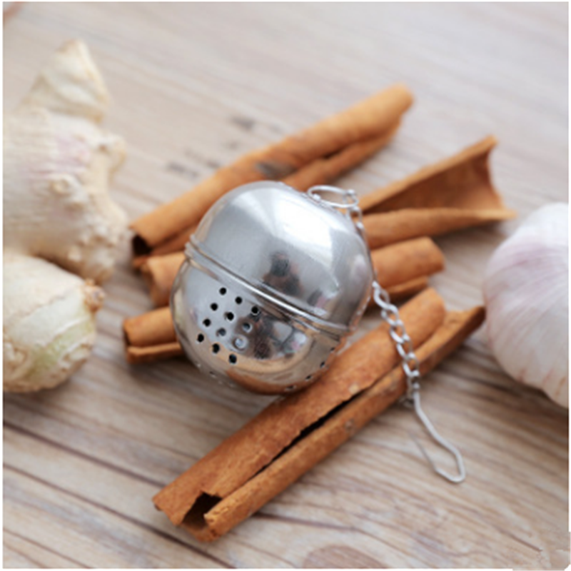BXLYY 1pc Stainless Steel Tea Strainer Creative Tea Kitchen Accessories Soup Ball Leaking Kitchen Gadgets Pu'er Tea Green Tea.7z