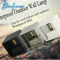 Modern Bedside 7W LED Wall Lamps Outdoor Waterproof Wall Lamp Garden Lights Living Room Light Aisle Background Stairs LED Sconce