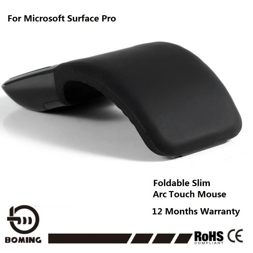 1d431c1cc6b Wireless Mouse For Microsoft Surface Arc Touch 3D Computer Mouse 2.4Ghz  Foldable Mouse For PC & Laptop High Quality