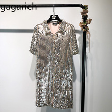 35fb15b13a Buy sequin dress short sleeve silver and get free shipping on ...