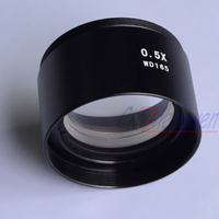 FYSCOPE SZM 0.5X AUXILIARY OBJECTIVE LENS FOR STEREO ZOOM MICROSCOPE WD 165mm