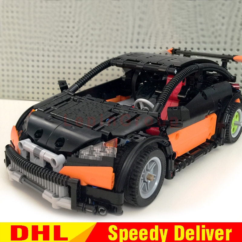 Lepin 20053 Genuine Technic Kits The Hatchback Type R Set MOC-6604 Building Blocks Bricks Educational legoings Toys Gifts Model lepin 20053 genuine new technic series the hatchback type r set moc 6604 building blocks bricks educational toys boy gifts model