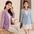 A primavera eo Outono Coreano pequena terno Coreano moda tie-tingido Fino terno jacket-do914