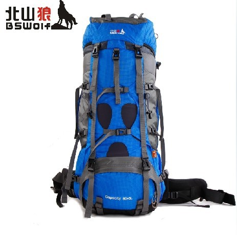85L  Outdoor Mountaineering Bag Backpack Travel Backpack Outdoor Camping Backpack  A5144~x 75l external frame support outdoor backpack mountaineering bag backpack men and women travel backpack a4809