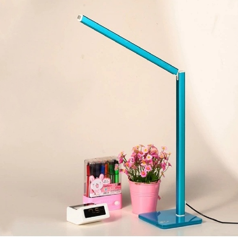 ФОТО 48 LEDS Adjustable Table Lamps Reading Light LED Desk Lamp Student Study Reading Foldable Rechargeable Led Table Lamps IY106117
