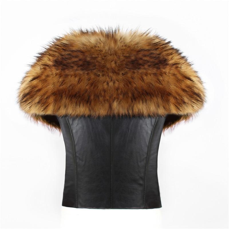 2018 spot fashion Europe and America party high-end fox fur faux fur vest elegant elegant fur (5)
