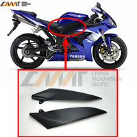 Black Tank Side Cover Panel FAIRING Trim Cowl case for YAMAHA YZF1000 R1 2004 2006 2005 YZF R1
