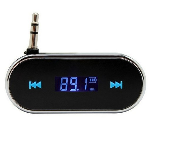 Car MP3 Player Folding3.5mm In-car Wireless Fm Transmitter For iPhone Samsung Hands-free telephone Car Audio player