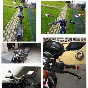 Image 5 - دراجة نارية مرآة الرؤية الخلفية مرآة الجانب مرايا 8 10 مللي متر لهوندا PCX 125 150 MSX125 MSX 125 NC750X NC750 NC700S/X CBR 600 CB400