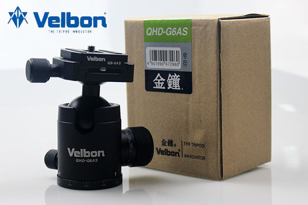 Velbon QHD G6AS digital SLR camera tripod cloud platform.Velbon QHD G6AS digital SLR camera tripod cloud platform.
