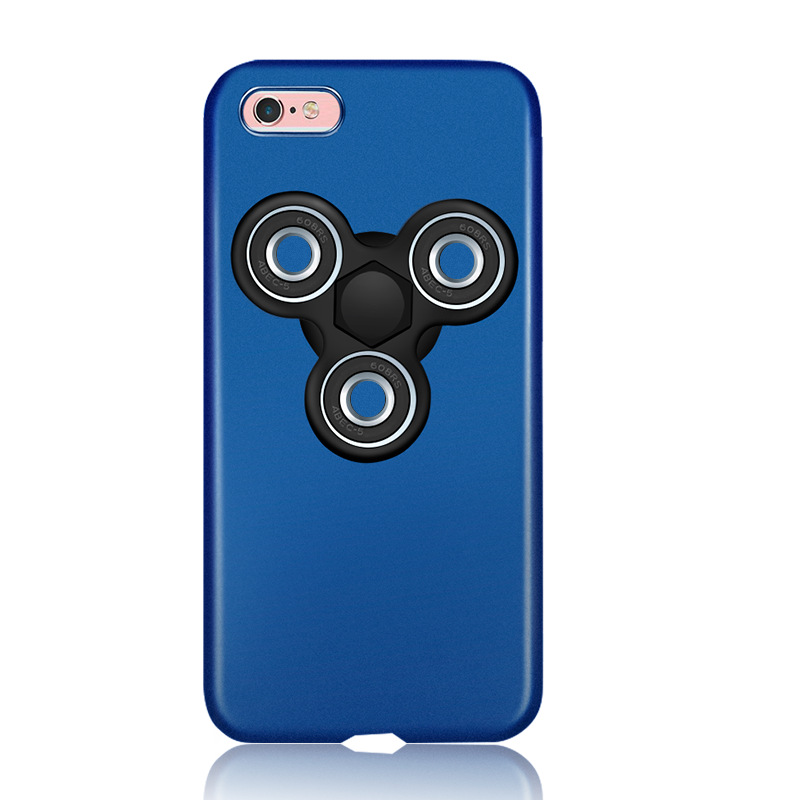 Funny Hand Fidget Spinner PC Hard Matte Phone Case For iPhone7 7 Plus