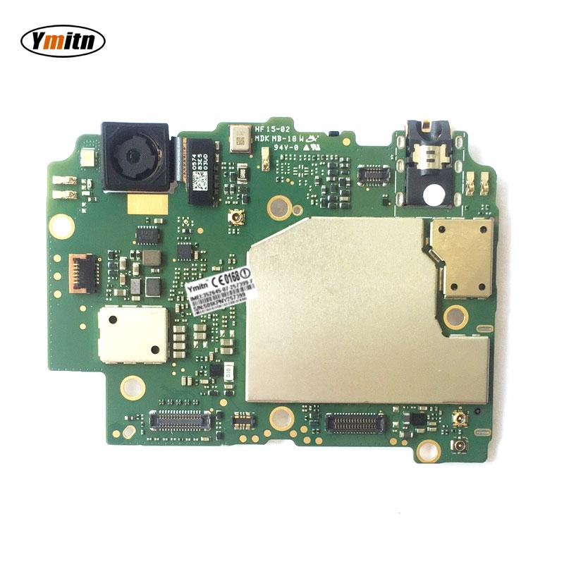Ymitn Mobile Électronique panneau carte mère Carte Mère débloqué avec puces Circuits Pour Xiaomi RedMi hongmi 5A 16 gb