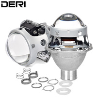 3.0 inch H4 Hella 5 Full Metal HID Bi Xenon Projector lens For D2S D2R D2H D4S Xenon Bulb Kit Car Retrofit Headlights Styling