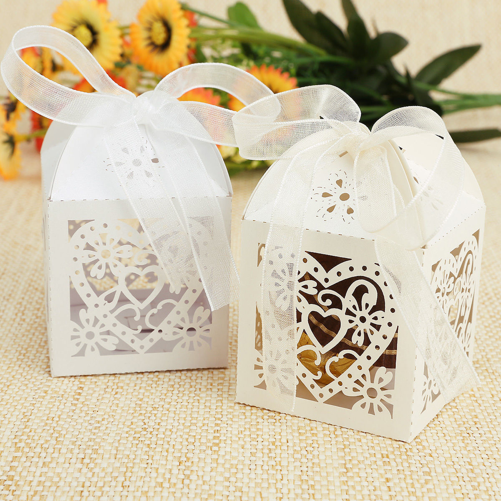 WITUSE Cheap+49%off Wedding Invitations Mariage 50pcs Floral Laser ...