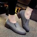 2016 primavera zapatos solo moda zapatos de las mujeres de moda estilo de muy buen gusto de las mujeres trabajan zapatos de cuero ocasionales